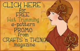 FREE Hat Trimmings Pattern | eBooks | Arts and Crafts