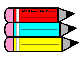 All About Me Pencil Poetry Set | Other Files | Documents and Forms