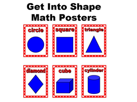 Get Into Shape:  Math Posters Set | Other Files | Documents and Forms