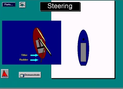 Third Additional product image for - Parts of a Sailboat Digital Sailing Lesson for Mac and PC