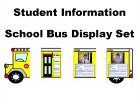 Student Information School Bus Display | Other Files | Documents and Forms