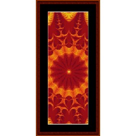 Fractal 281 Bookmark cross stitch pattern by Cross Stitch Collectibles   Crafting   Cross-Stitch   Other