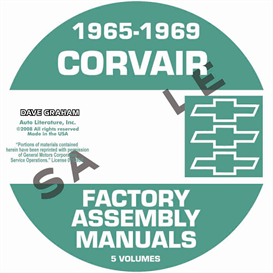 1965-1969 Corvair Factory Assembly Manuals | eBooks | Automotive