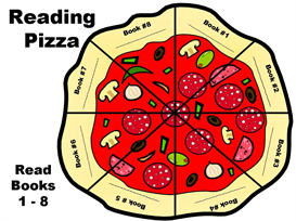 Reading Pizza (8 general books) Incentive Chart | Other Files | Documents and Forms