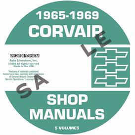 1965-1969 Corvair Shop Manuals | eBooks | Automotive