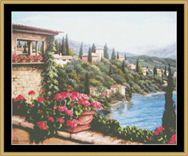 Its All In The View - Cross Stitch Download | Crafting | Cross-Stitch | Other
