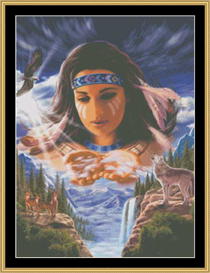Spirit In The Sky - Cross Stitch Download | Crafting | Cross-Stitch | Other