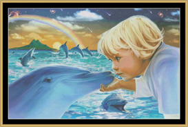 Dolphin Farwell - Cross Stitch Download | Crafting | Cross-Stitch | Other
