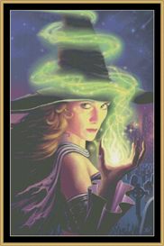 Hex Of The Wicked Witch - Cross Stitch Download | Crafting | Cross-Stitch | Other