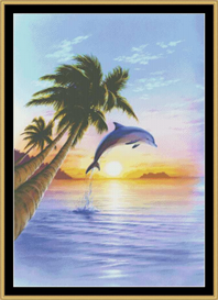 Morning Dolphin - Cross Stitch Download | Crafting | Cross-Stitch | Other