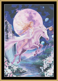 Spirit Of The Maiden - Cross Stitch Download | Crafting | Cross-Stitch | Other