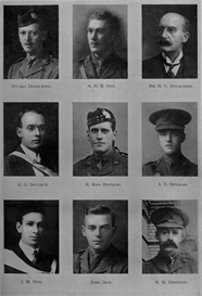 edinburgh university roll of honour 1914-1919 plate 22