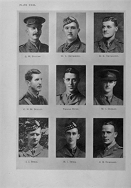 edinburgh university roll of honour 1914-1919 plate 23