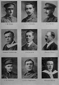 edinburh university roll of honour 1914-1919 plate 24