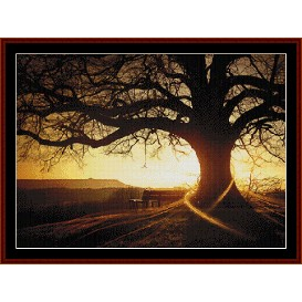 Sunset - Nature cross stitch pattern by Cross Stitch Collectibles | Crafting | Cross-Stitch | Other