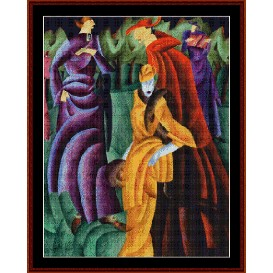 Jesuits III - Feininger cross stitch download | Crafting | Cross-Stitch | Wall Hangings
