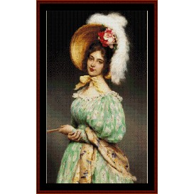 Musette - de Blass cross stitch pattern by Cross Stitch Collectibles | Crafting | Cross-Stitch | Wall Hangings