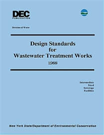 1988 NYS DEC Design Standards for Wastewater Treatment Works - Intermediate Sized Sewerage Facilities | Other Files | Documents and Forms