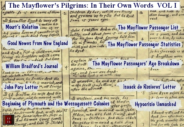 First Additional product image for - The Mayflower Pilgrims: In Their Own Words VOL I EBook