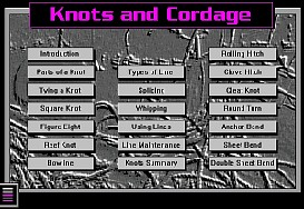 Learn to Tie Knots Digital Sailing Lesson App for Blackberry | Software | Mobile