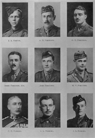 Edinburgh Univsity Roll Of Honour 1914-1919 Plate 25 | Other Files | Photography and Images