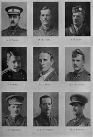 Edinburgh University Roll Of Honour 1914-1919 Plate 26 | Other Files | Photography and Images