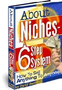 how to find your own marketing niche - about niches a 6 step system.