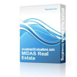 MIDAS Real Estate Investing Software | Software | Business | Other