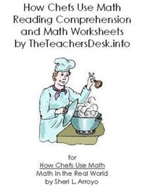 How Chefs Use Math Reading Comprehension & Math | eBooks | Education