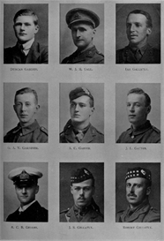 Edinburgh University Roll Of Honour 1914-1919 Plate 28 | Other Files | Photography and Images