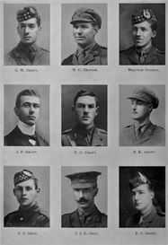Edinburgh University Roll Of Honour 1914-1919 Plate 31   Other Files   Photography and Images