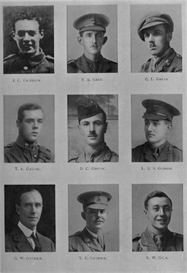 Edinburgh University Roll Of Honour 1914-1919 Plate 32 | Other Files | Photography and Images