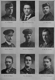 Edinburgh University Roll Of Honour 1914-1919 Plate 34 | Other Files | Photography and Images