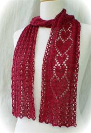 Thinking of You Scarf knitting pattern - PDF   Other Files   Arts and Crafts