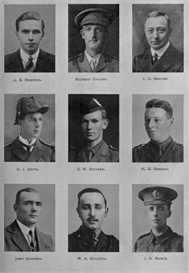 Edinburgh University Roll Of Honour 1914-1919 Plate 36 | Other Files | Photography and Images