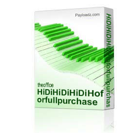 HiDiHiDiHiDiHoforfullpurchase | Music | Rap and Hip-Hop