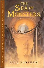 The Sea of Monsters (Percy Jackson and the Olympians Series #2) by Ric | eBooks | Science Fiction