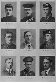 Edinburgh University Roll Of Honour 1914-1919 Plate 41 | Other Files | Photography and Images