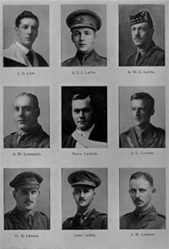 Edinburgh University Roll Of Honour 1914-1919 Plate 43 | Other Files | Photography and Images