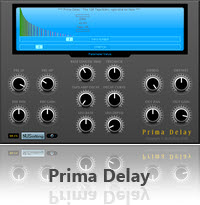 """prima delay"" - audio plugin"