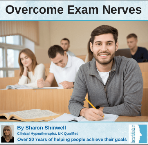 overcome exam & test nerves with self hypnosis