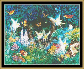 Forest Faries - Cross Stitch Download | Crafting | Cross-Stitch | Wall Hangings