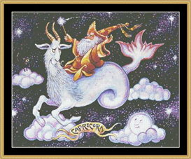 Capricorn - Cross Stitch Download | Crafting | Cross-Stitch | Wall Hangings