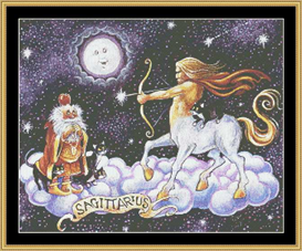 Sagittarius - Cross Stitch Download | Crafting | Cross-Stitch | Wall Hangings