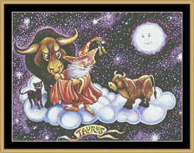 Taurus - Cross Stitch Download | Crafting | Cross-Stitch | Wall Hangings