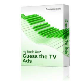 Guess the TV Ads