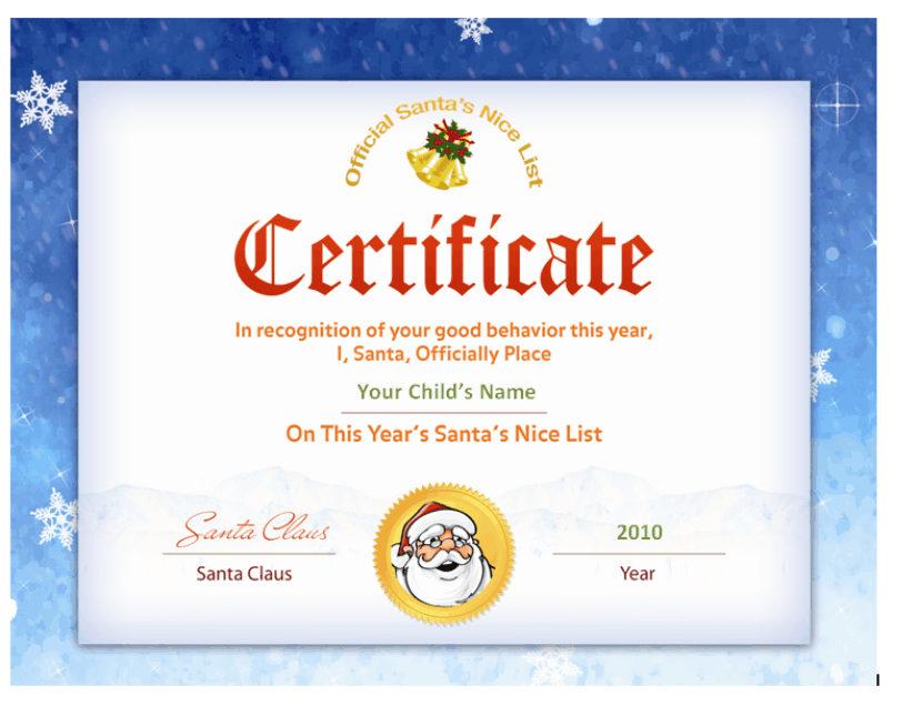 Santas nice list certificate santa seal other files santas nice list certificate santa seal other files patterns and templates spiritdancerdesigns Gallery