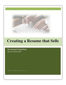 Creating a Resume That Sells