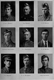 Edinburgh University Roll Of Honour 1914-1919 Plate 50 | Other Files | Photography and Images