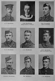 edinburgh university roll of honour 1914-1919 plate 51